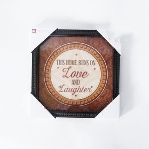 NIP Love And Laughter framed wall art